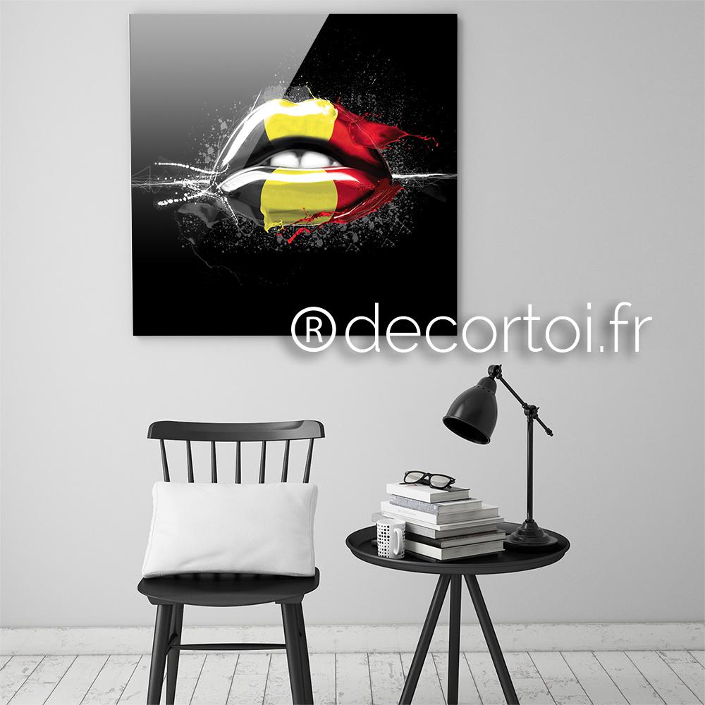 Plexi bouche belgique fond noir achat de tableaux sur - Achat internet belgique ...