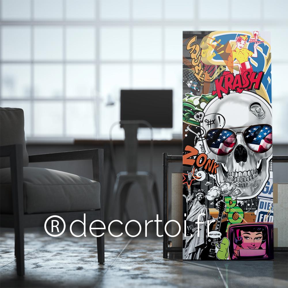 plexi skull am rique achat de tableaux sur internet. Black Bedroom Furniture Sets. Home Design Ideas