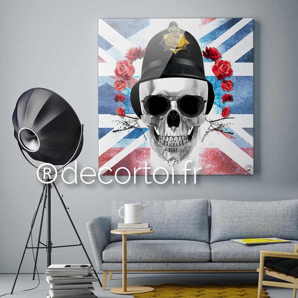 plexi skull england achat de tableaux sur internet. Black Bedroom Furniture Sets. Home Design Ideas