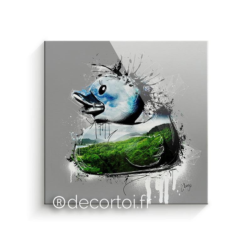 Plexi canard paysage achat de tableaux sur internet decortoi - Canard decoration accessoire ...